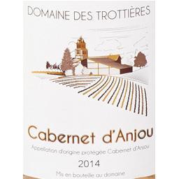 Cabernet d'Anjou 2014, vin rosé