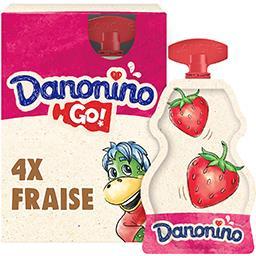 Danonino - Spécialité laitière Go Fraise