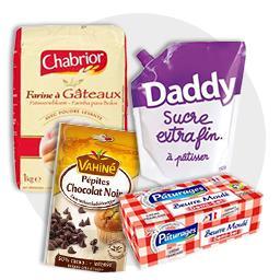 Quatre-quarts aux pépites de chocolat