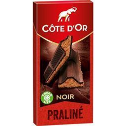 Côte d'Or Chocolat praliné fondant noir