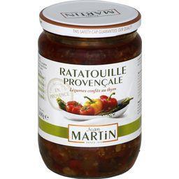 Ratatouille Provençale légumes confits au thym