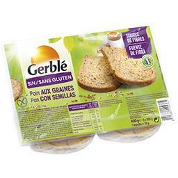 Sans Gluten - Pain aux graines