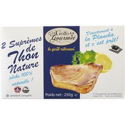 Golfo Gourmet Suprêmes de thon la boite de 2 - 250 g