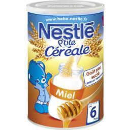P'tite Céréale - Céréale miel, 8+ mois