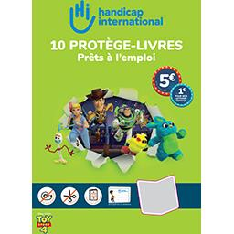Handicap International Kit Plio protège-livres, pastilles autocollantes, ét...