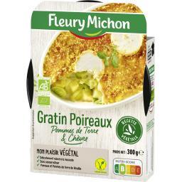 Végétal - Gratin poireaux pommes de terre & chèvre B...