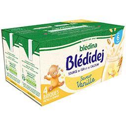 Blédidej - Céréales + apport lacté saveur vanille, d...