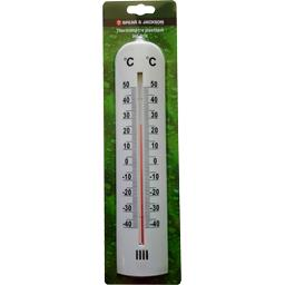 Thermomètre plastique blanc