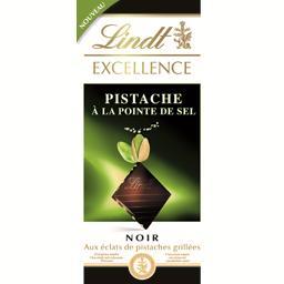 Excellence - Chocolat noir pistache à la pointe de sel