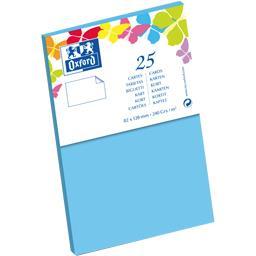 Carte de visite 82x128 240 g bleu lagon