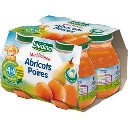 Mini Biberon - Boisson abricots poires, dès 4/6 mois