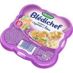 Blédichef - Jardinière de légumes et pâtes, dès 18 m...