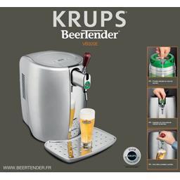 Tireuse à bière Beertender VB320E, chrome