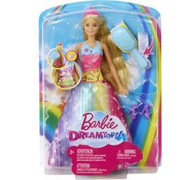 Barbie Poupée Princesse arc-en-ciel sons et lumières