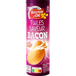 Tuiles snack saveur Bacon Craquantes