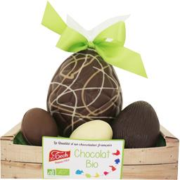 Le Tech Cagette œuf chocolat BIO la cagette de 170 g