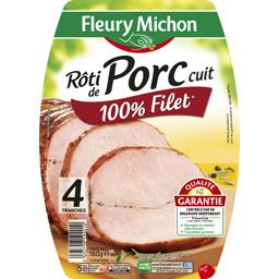 Rôti de porc cuit 100% filet