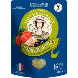Express Quinoa à la méditerranéenne sans gluten