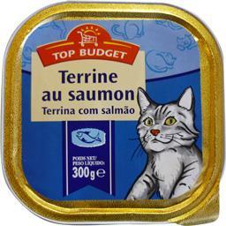 Terrine au saumon pour chats