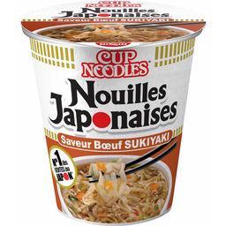 Soupe nouilles japonaises saveur bœuf 'Sukiyaki'