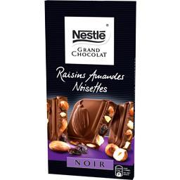 Noir raisin noisettes amandes