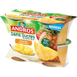 Ananas Morceaux - sans sucres ajoutés
