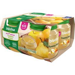 Pommes poires, dès 4/6 mois