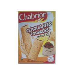 Bâtonnets de céréales Craquantes Fourrées chocolat