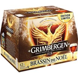 Bière d'Abbaye Brassin de Noël