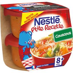 Nestlé Nestlé Bébé P'tite Recette - Couscous, 8+ mois