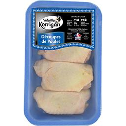 Haut de cuisse de poulet déjointé