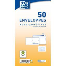 Enveloppes auto-adhésive 110x220 90 g