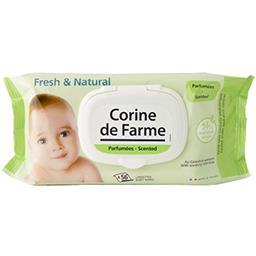 Corine de Farme Lingettes Fresh & Natural