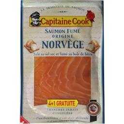 Saumon fumé origine Norvège