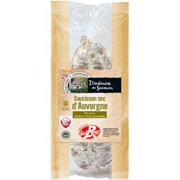 Itinéraire des Saveurs Saucisson sec d'Auvergne Label Rouge le paquet de 800 g