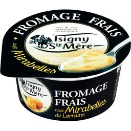 Fromage frais aux mirabelles de Lorraine