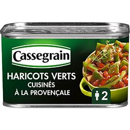 Haricots verts plats cuisinés à la provençale