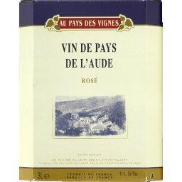 Vin rosé de pays de l'Aude