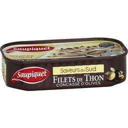 Saveur du Sud - Filets de thon concassé d'olives
