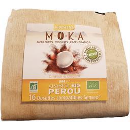 Capsules de café arabica Pérou BIO, original & élégant