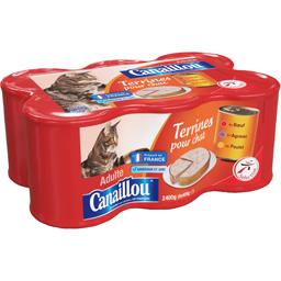 Terrines pour chat adulte