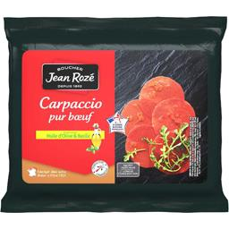 Carpaccio pur bœuf huile d'olive & basilic