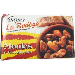 Bodéga Moules à l'escabèche Le sachet de 112 gr