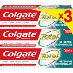 Total - Dentifrice nettoyage interdentaire