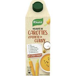 Knorr Velouté de carottes & pointe de curry la brique de 750 ml