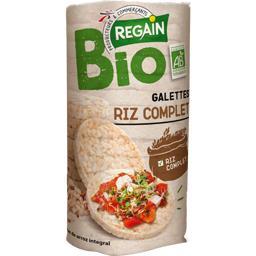 Galettes au riz complet bio