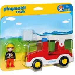 Camion de pompier avec échelle pivotante 1 1/2+