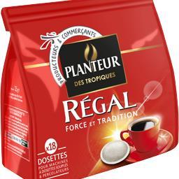 Dosettes de café Régal force et tradition