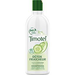 Shampooing détox fraîcheur extrait de concombre