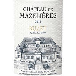 Buzet Château de Mazelières vin Rouge 2015